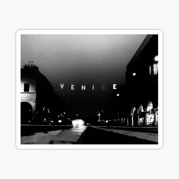 """""""A Touch of Venice""""   Photograph by Nicholas Brendon Sticker"""