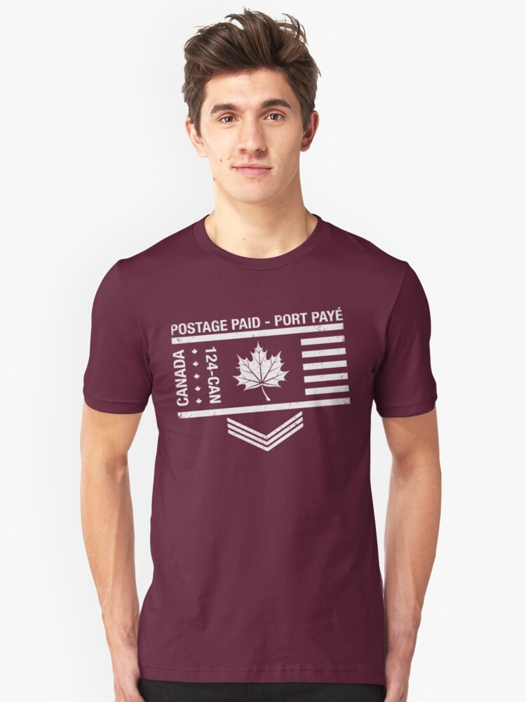 Postage Paid Canada by s2ray