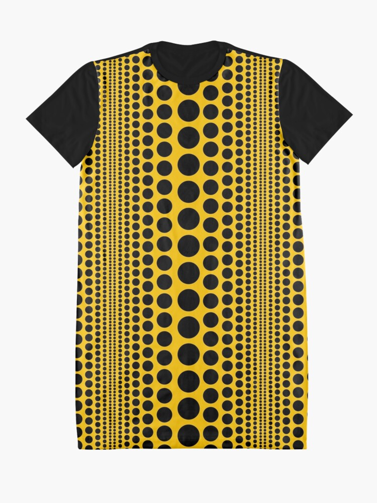 Alternate view of Infinity Polka Dots Graphic T-Shirt Dress