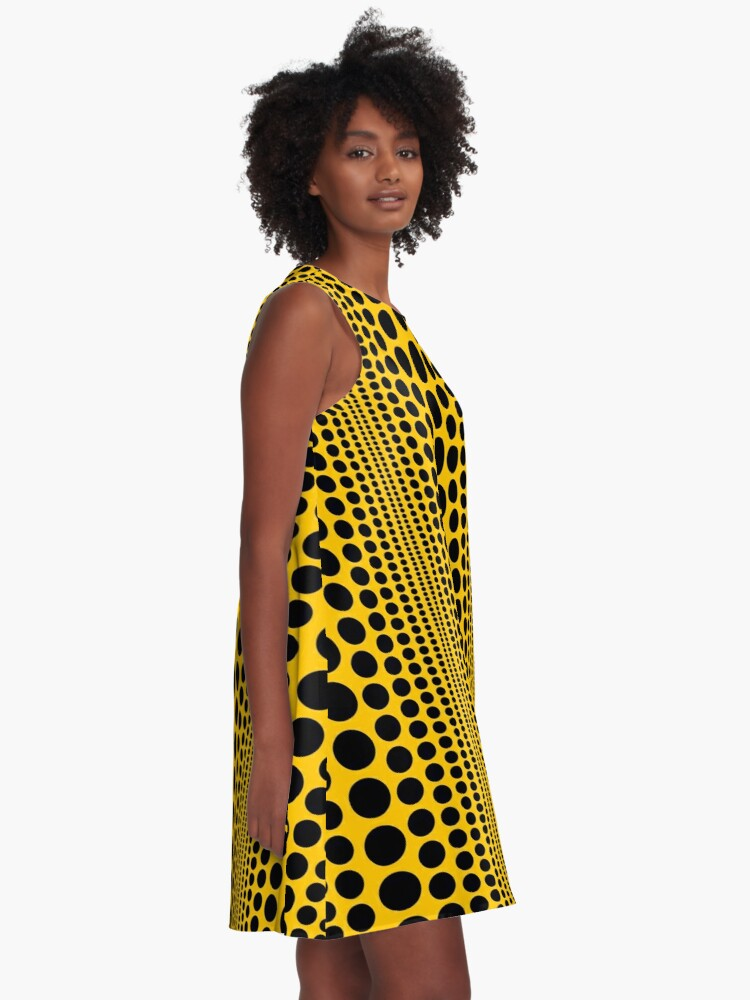 Alternate view of Infinity Polka Dots A-Line Dress