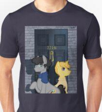 The Adventures of Sherlock Hooves: 221B Unisex T-Shirt