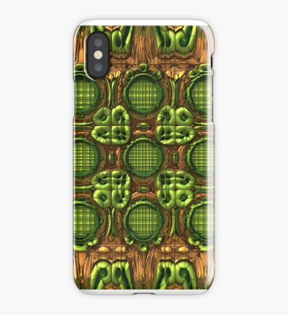 Pandora (Green and Brown) for iPhone iPhone Case