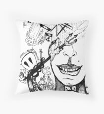 Planetary Destruction Throw Pillow