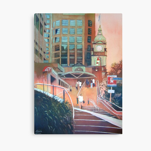 Brisbane central station Canvas Print