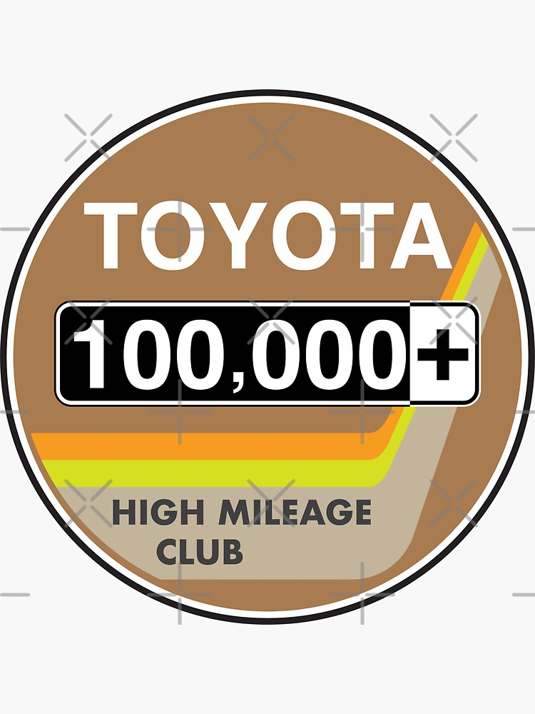 Toyota High Mileage Club - 100,000+ Miles (2KB Version) by brainthought
