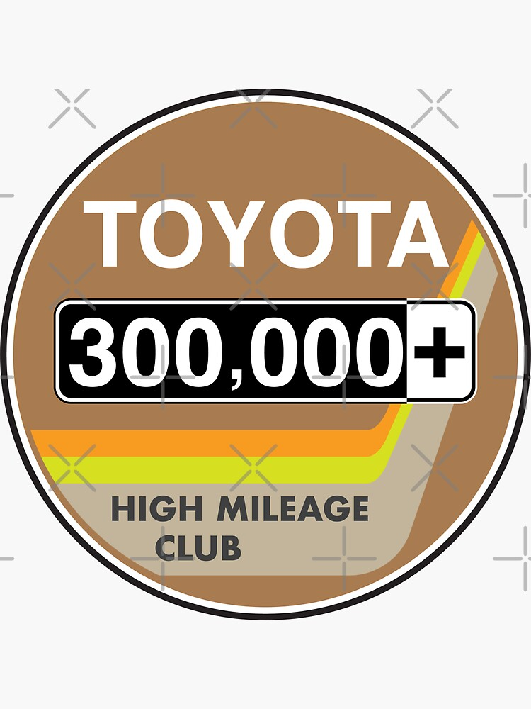 Toyota High Mileage Club - 300,000+ Miles (2KB Version) by brainthought