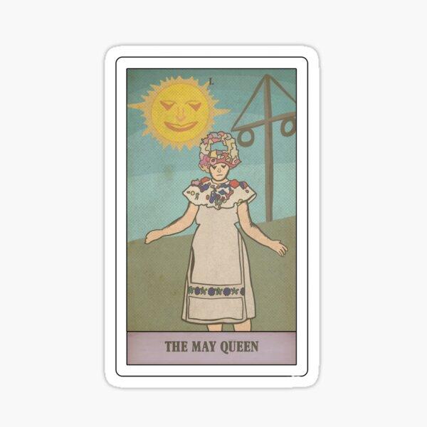 Midsommar Tarot Card (a24 series) Sticker
