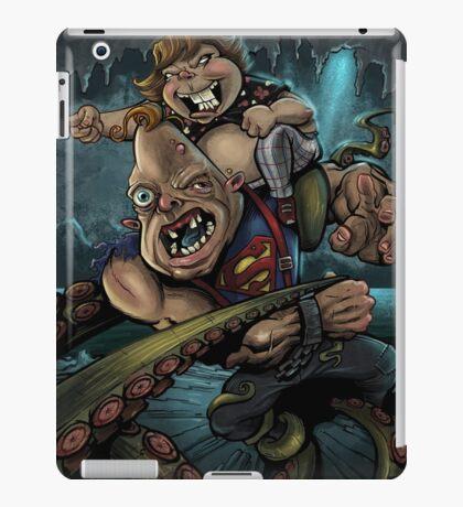 Sloth and Chunk vs. The Giant Squid iPad Case/Skin