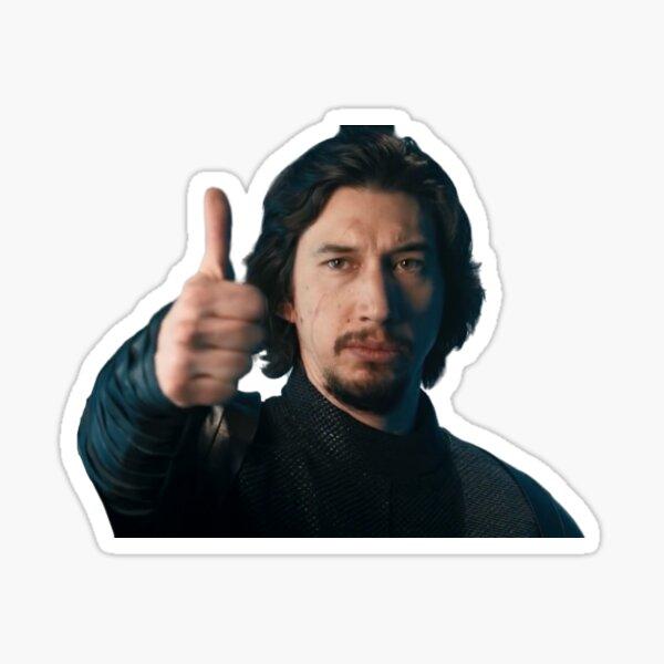 adam driver snl Sticker