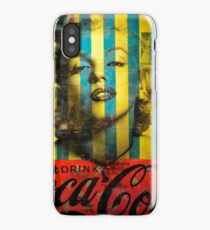 Striped Marilyn iPhone Case