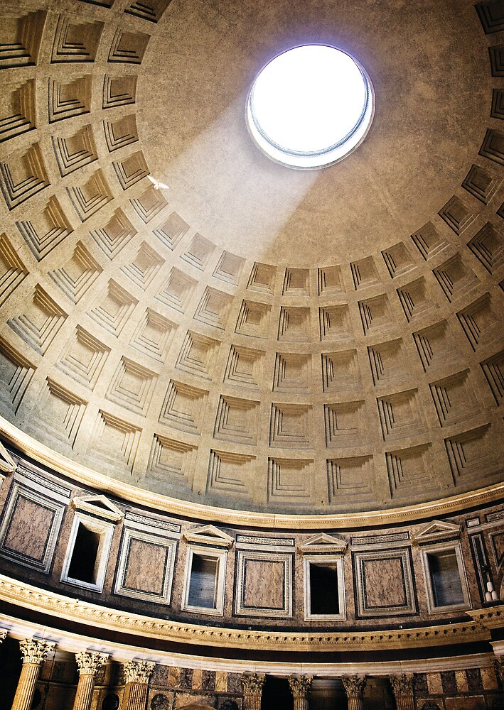 Pantheon, Rome by Kelly Kingston