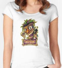 Tiki Time Women's Fitted Scoop T-Shirt