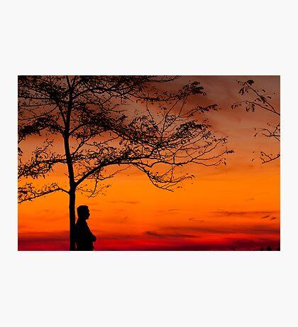 SUNSET SHADES Photographic Print
