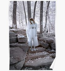 Zombie Bride 1 - Infrared Poster