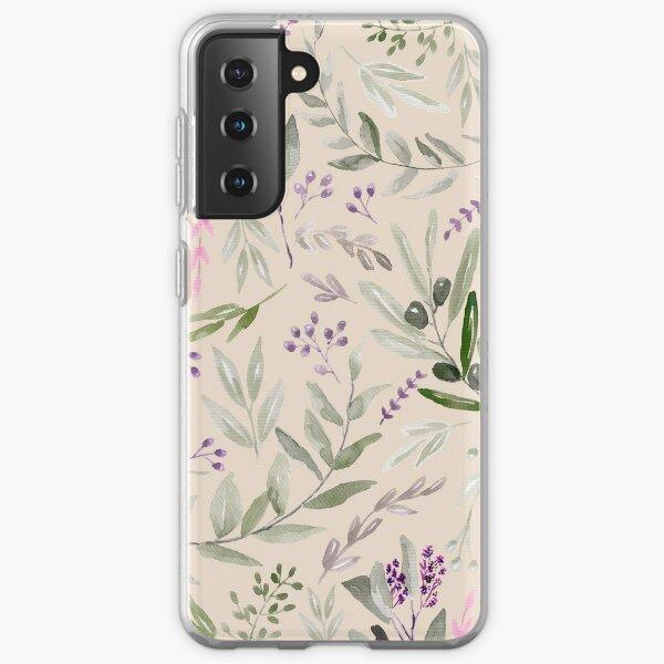 Eucalyptus Pastel Pattern Samsung Galaxy Soft Case