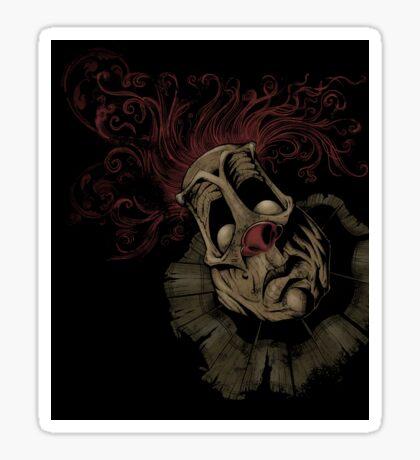 Dark Clown Sticker