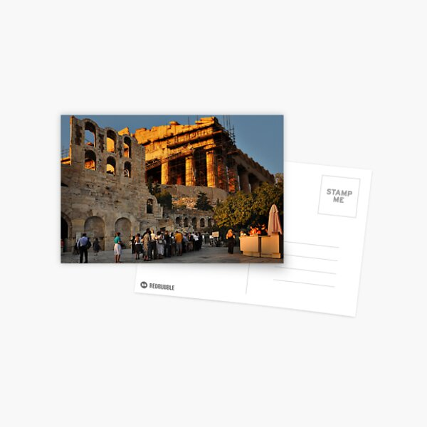Athens Opera Postcard
