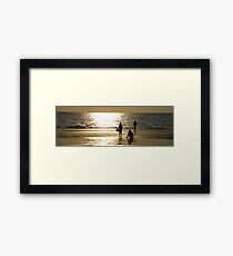Childs Play Panorama 1 Framed Print