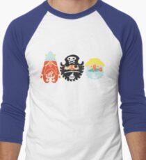 All Abeard! Men's Baseball ¾ T-Shirt
