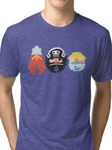 All Abeard! Tri-blend T-Shirt
