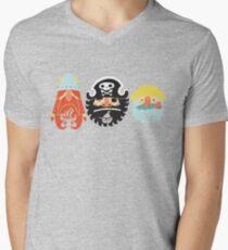 All Abeard! Mens V-Neck T-Shirt