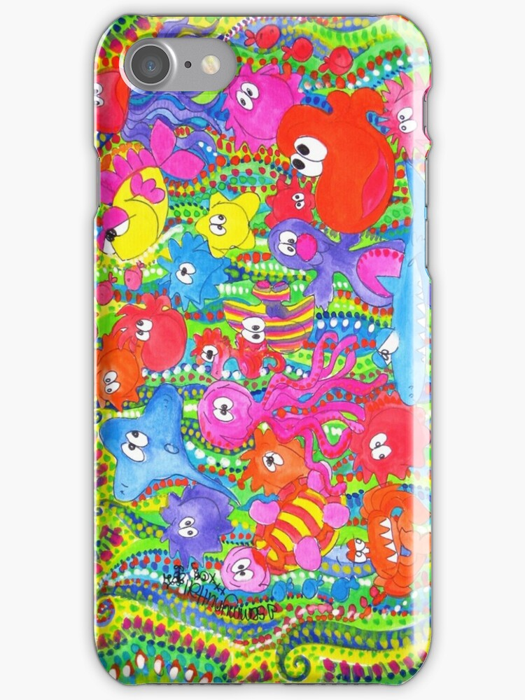 Gang's All Here: iPhone Case (full) by Sammy Nuttall