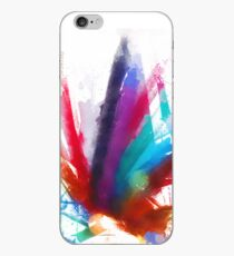 """the dancing Peacock / """"color"""" iPhone Case"""
