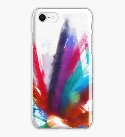 """the dancing Peacock / """"color"""" iPhone Case/Skin"""