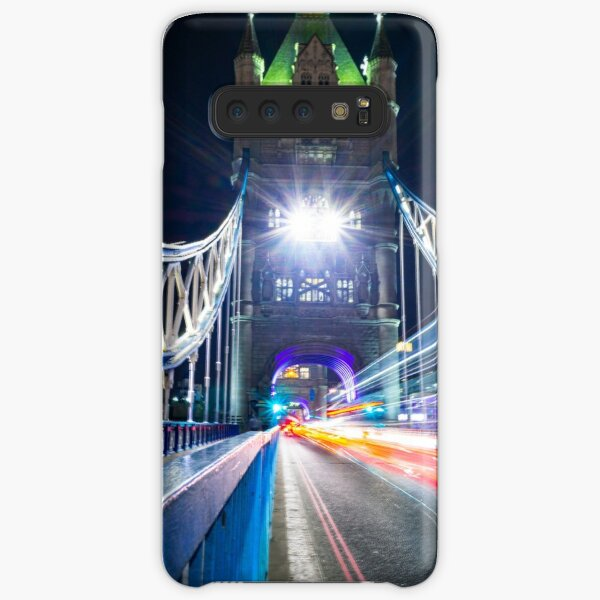 Tower Bridge Light Trails Samsung Galaxy Snap Case