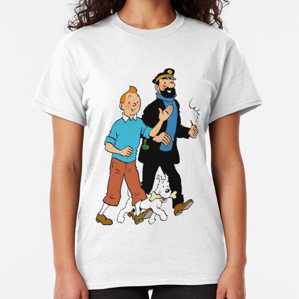 Tintin and Captain Haddock Classic T-Shirt