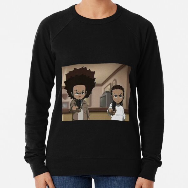 The Boondocks Huey, and Riley Lightweight Sweatshirt