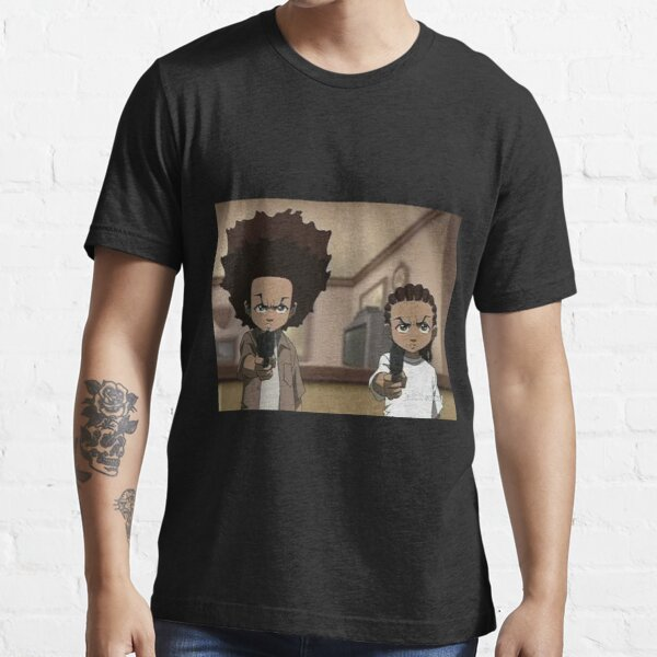 Les Boondocks Huey et Riley T-shirt essentiel