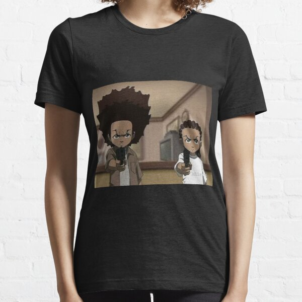 The Boondocks Huey, and Riley Essential T-Shirt