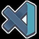 Visual Studio Code Pixel Art Greeting Card By Astrellon Redbubble