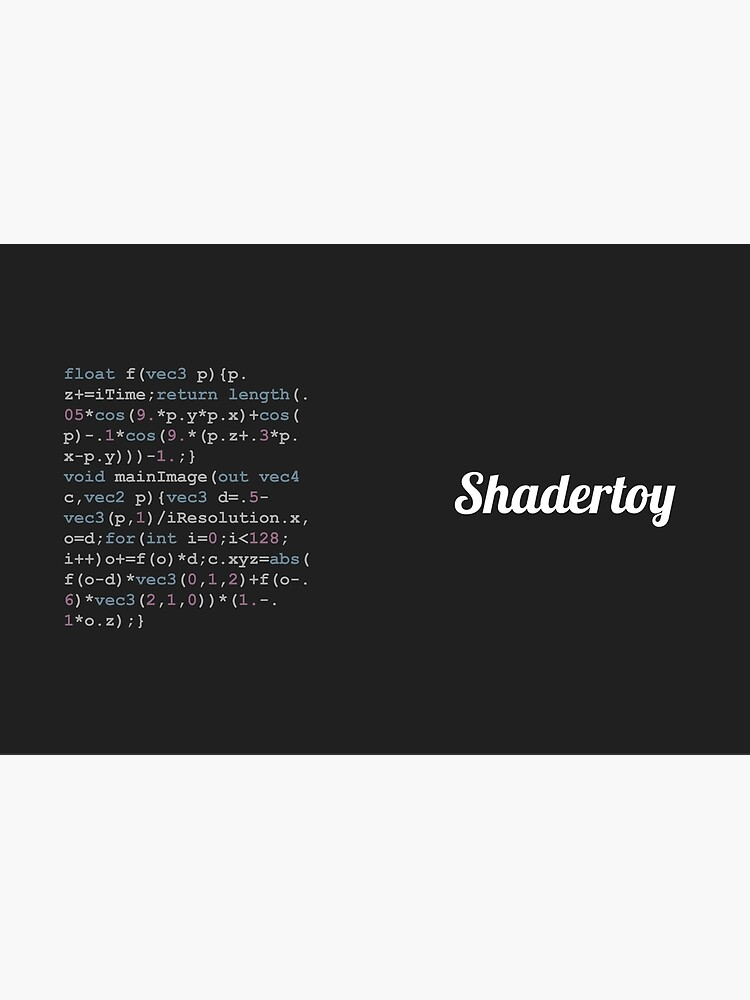 Shadertoy Size Coding by Shadertoy