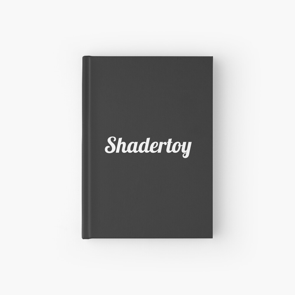 Shadertoy Size Coding Hardcover Journal