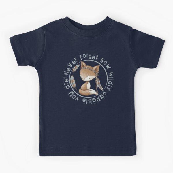 Fox boho WILD Kids T-Shirt