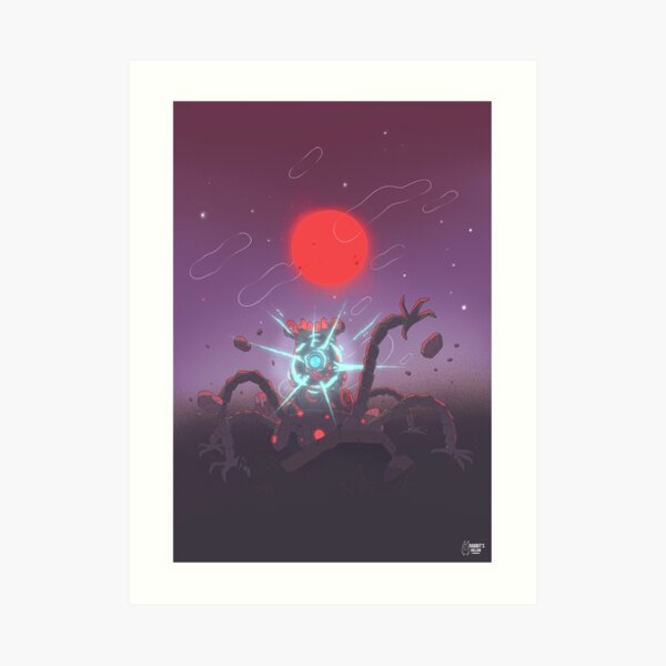 The Blood Moon Lámina artística