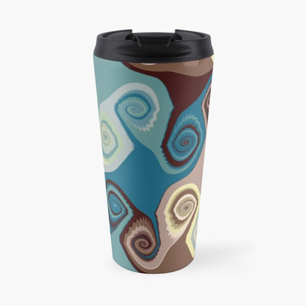 Swirly Base Travel Mug