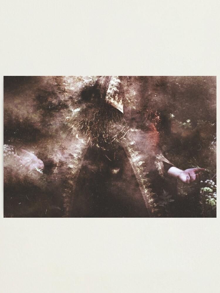 Alternate view of L'Enchanteur Sans Visage Photographic Print