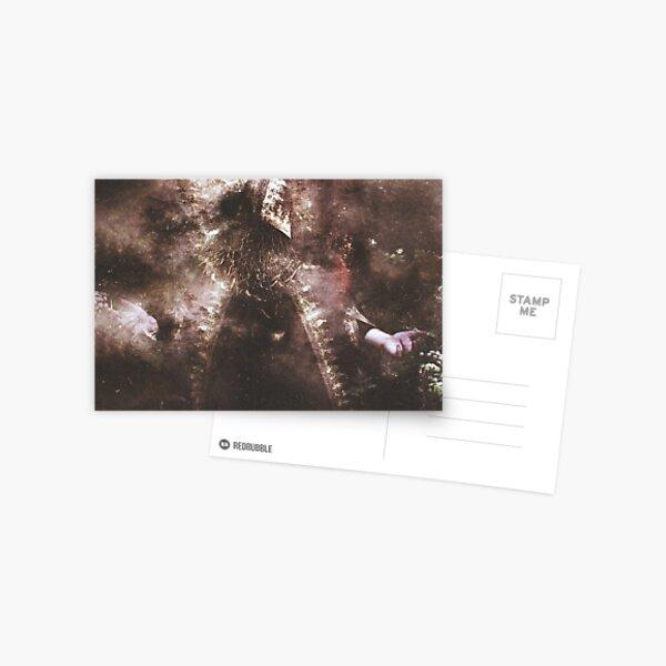 L'Enchanteur Sans Visage Postcard