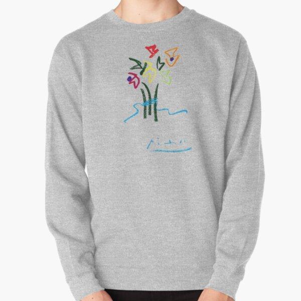 Fleurs du Soir (Night Flowers) by Pablo Picasso, Artwork for Wall Art, Prints, Posters, Tshirts, Women, Men, Kids Pullover Sweatshirt