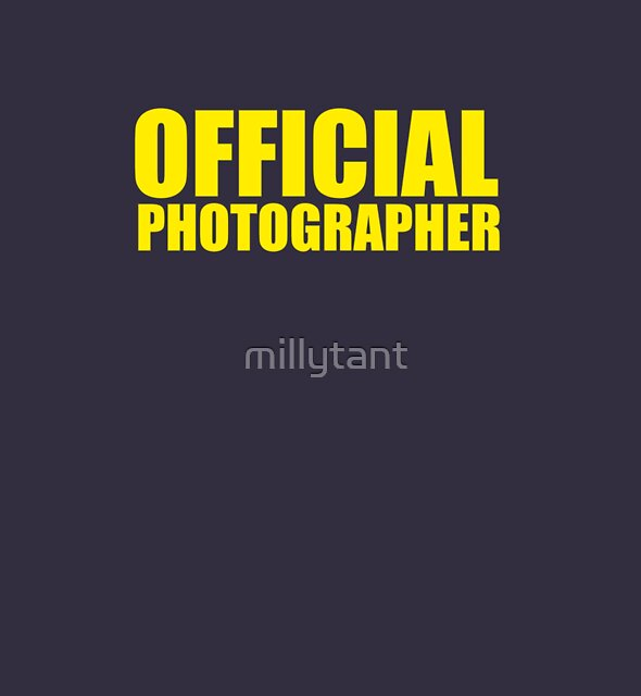 Official Photographer by millytant