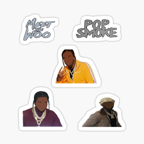 Pop Smoke Sticker Pack Sticker