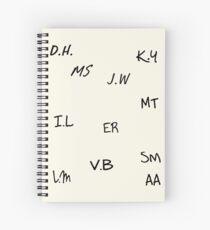 Teen Wolf | Senior Scribe Spiral Notebook