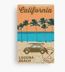 Laguna Beach - California. Canvas Print