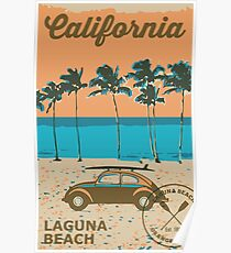 Laguna Beach - California. Poster