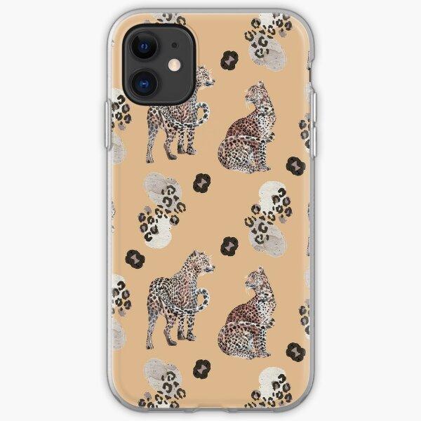 Leopard Muster iPhone Flexible Hülle
