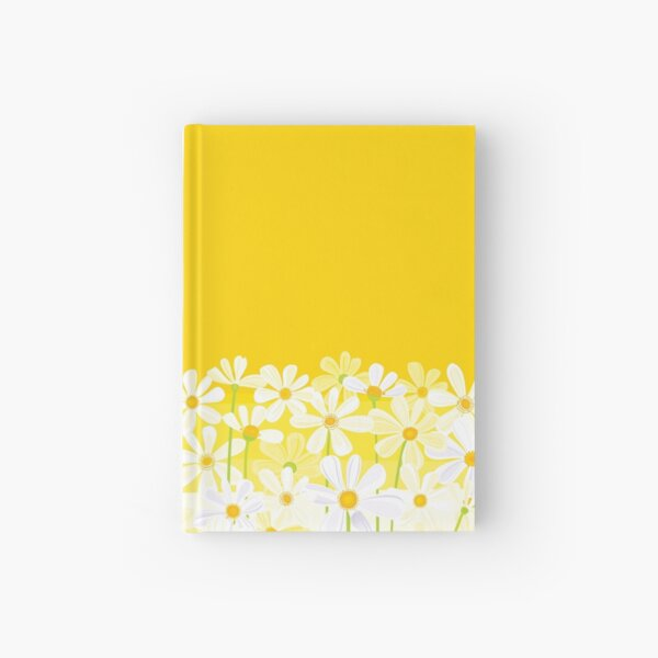 Daisies Hardcover Journal
