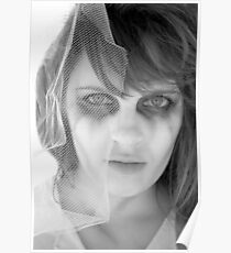 Zombie Bride 7 - Infrared Poster